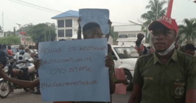 NANS Protest Death