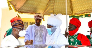 Emir Of Kano Visits