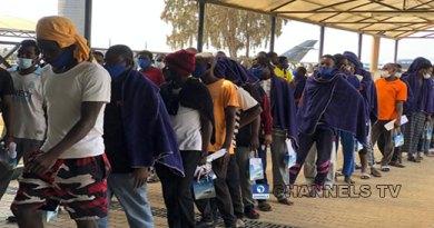 Stranded Nigerians