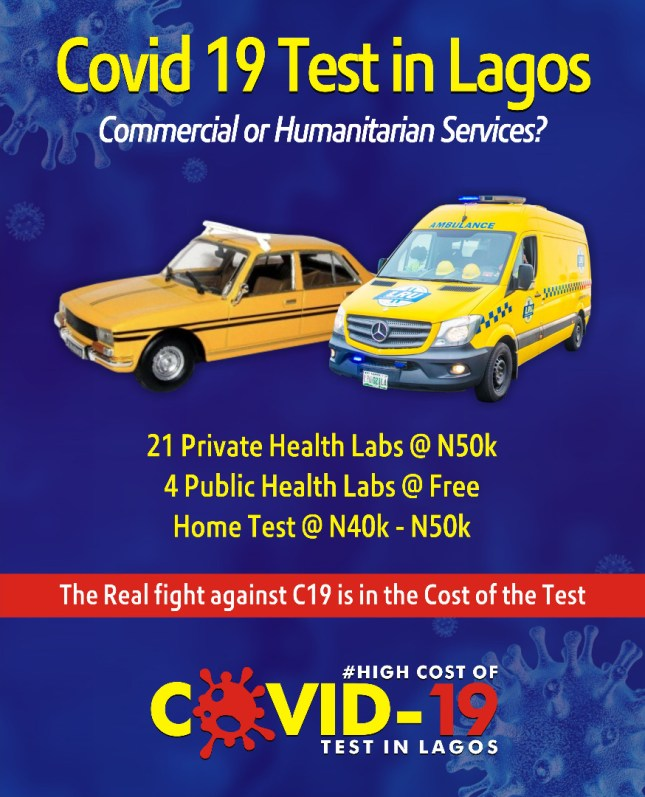 Lagos Residents Decry High Cost Of COVID Test