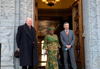 Photos: Ngozi Okonjo-Iweala Resumes As WTO DG In Style