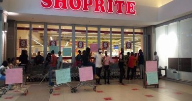 Shoprite Workers Protest