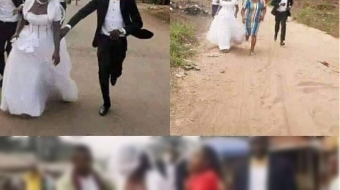 Bride Flees On Wedding Day
