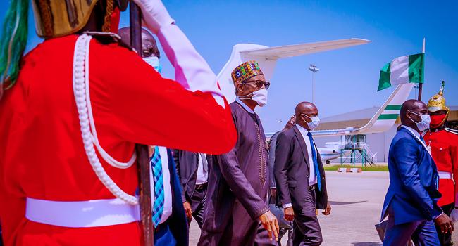 Buhari Returns To Abuja