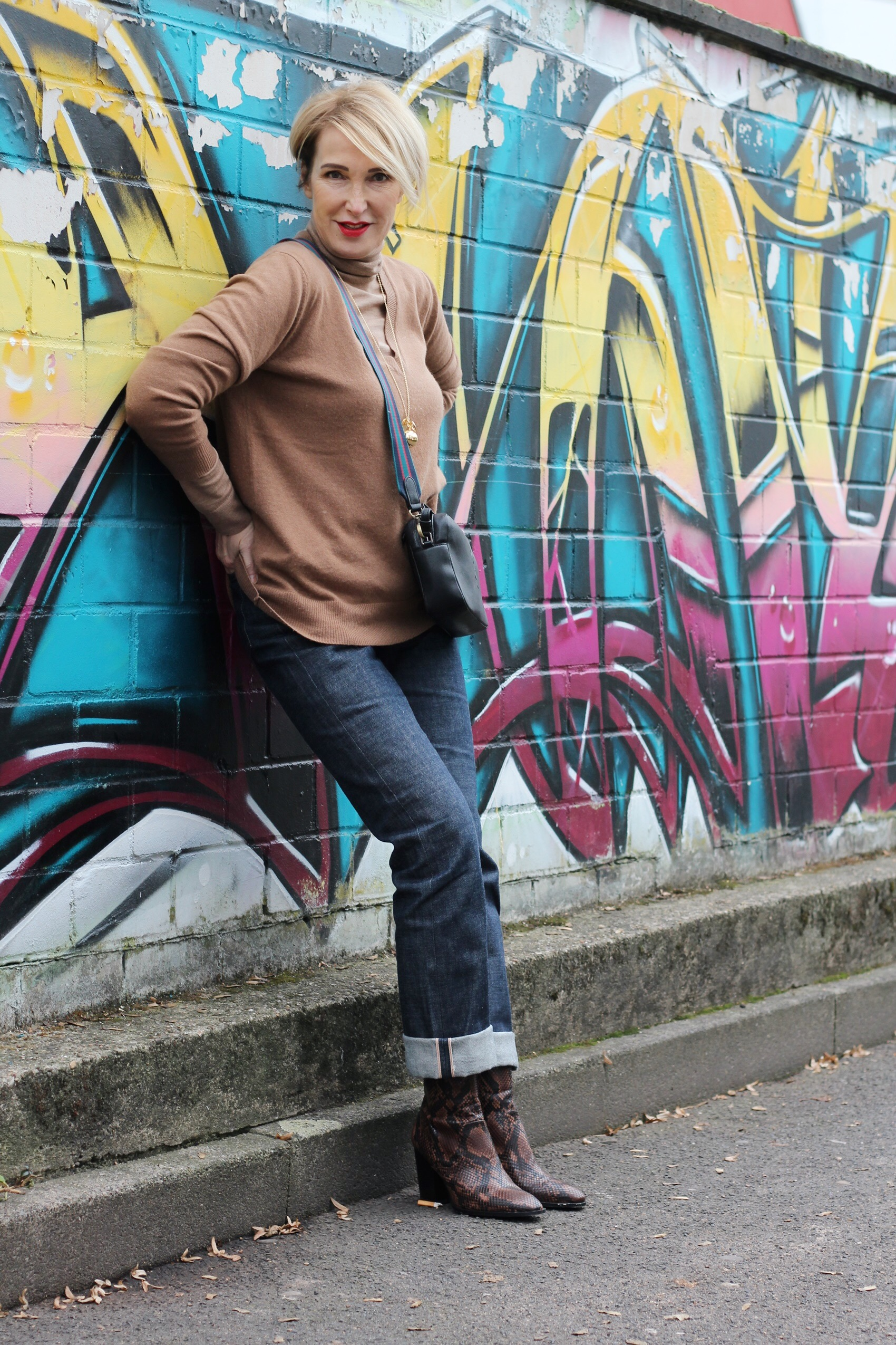 glamupyourlifestyle Rolli-untendrunter Rollkragenpullover Lagen-Look dünner-Rolli ue-40-blog ue-50-blog ü-40-blo