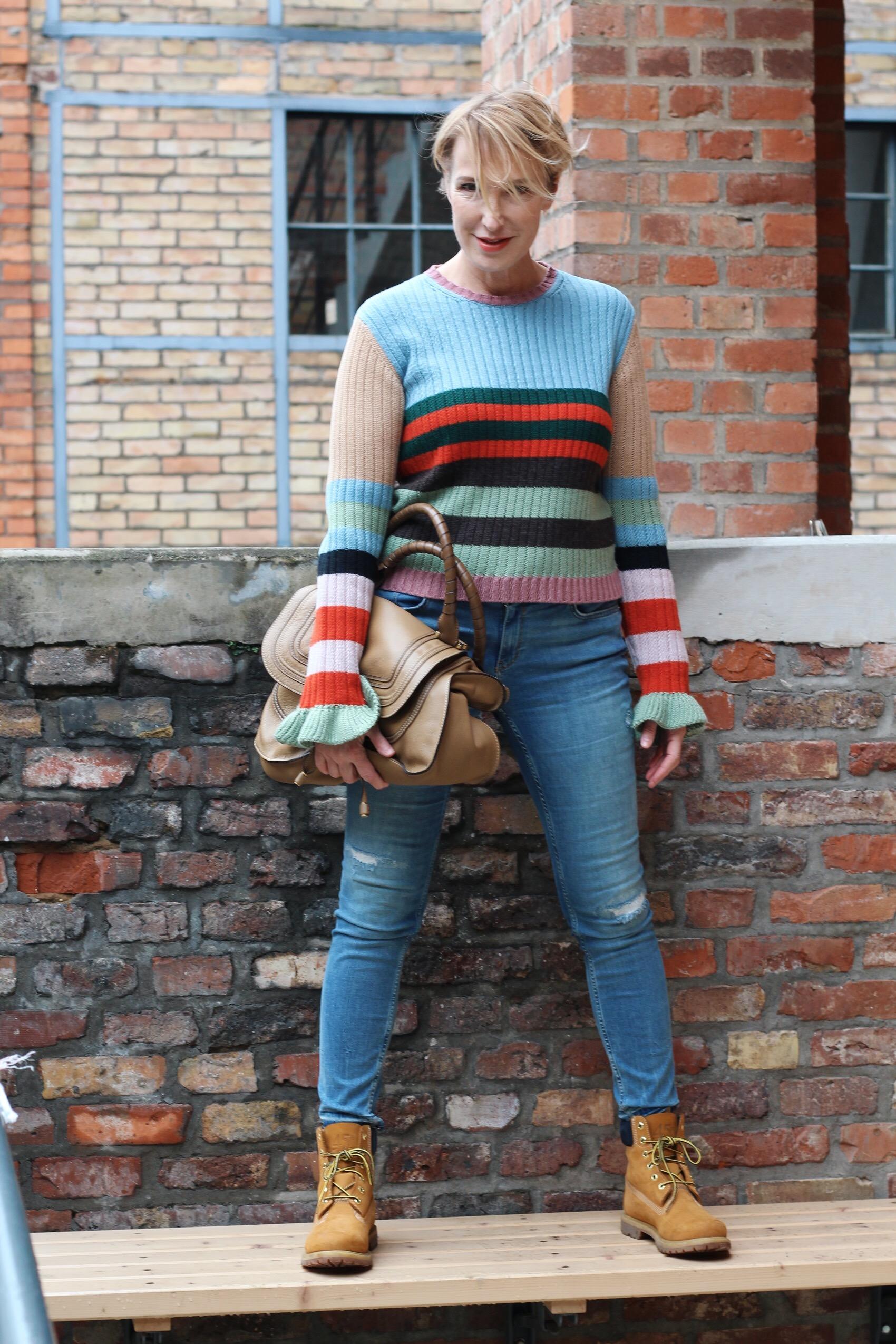 glamupyourlifestyle getreifter-Pullover Schnäppchen Valentino-Pullover Timberland-Boots elle-Magazin ue-40-blog ue-50-blog ü-40-blog ü-50-mode