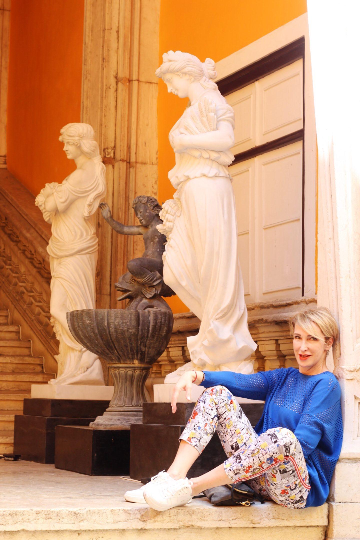 glamupyourlifestyle Frühlings-Outfit Frühlingsmode Sneaker Dorothee-Schumacher-Pullover ü-40-Blog ü-50-Blog ue-40-blog