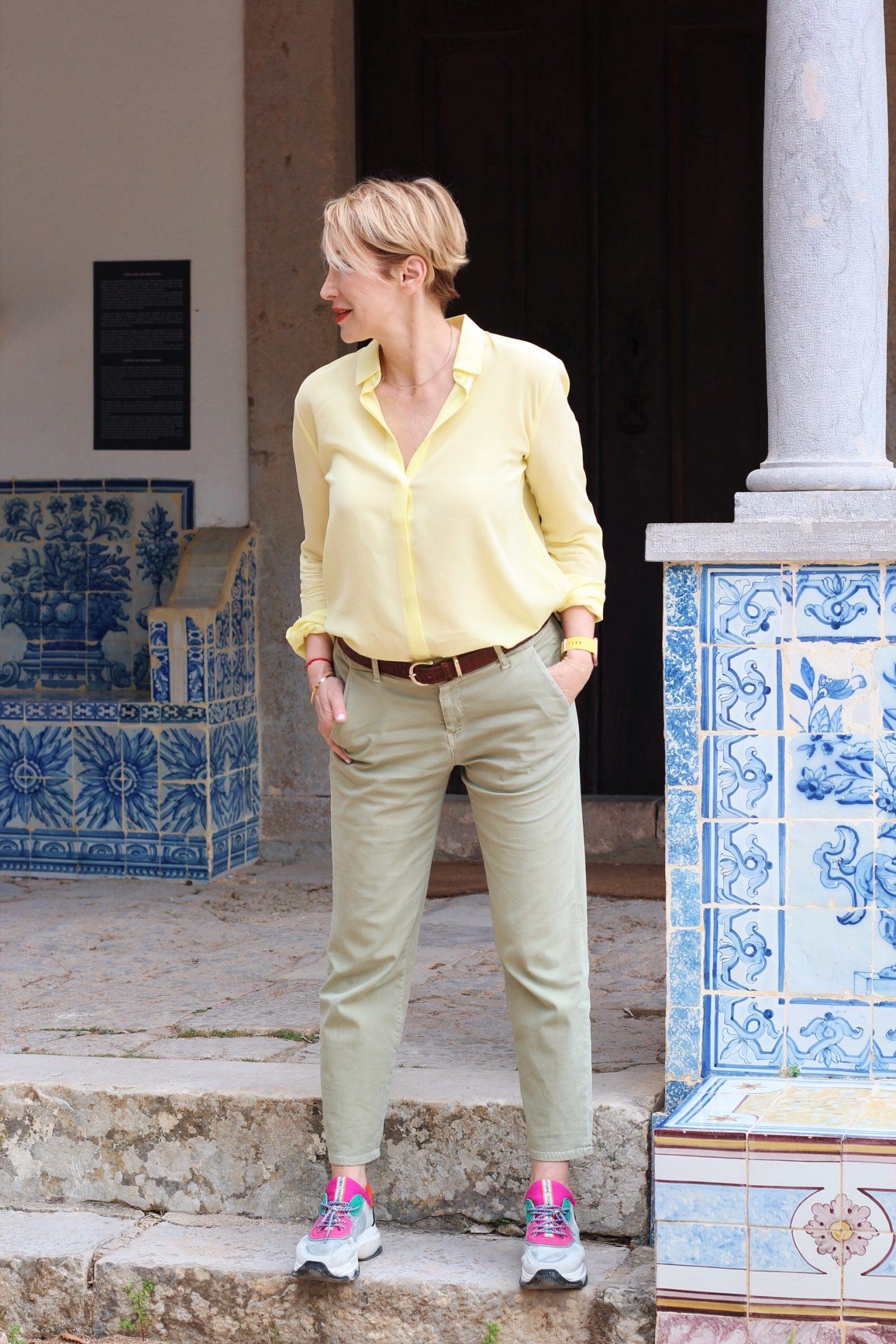 glamupyourlifestyle chino-hosen sommerhosen slipper business-outfit büro-look ü-40-blog ü-50-blog ue-40-blog