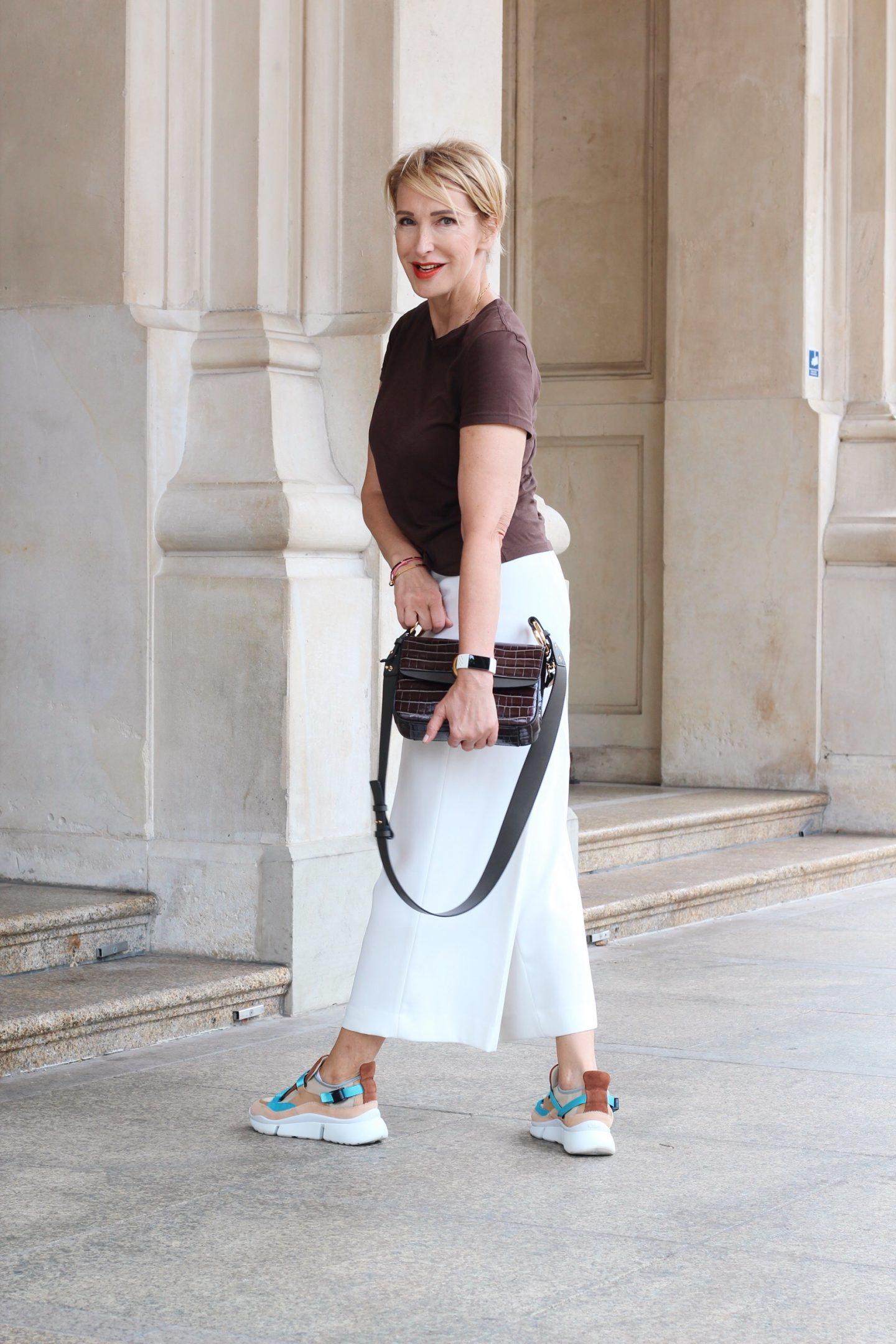 glamupyourlifestyle Chloe-Sneakers ugly-sneaker Culottes ü-40-blog ü-50-blog ü-50-mode