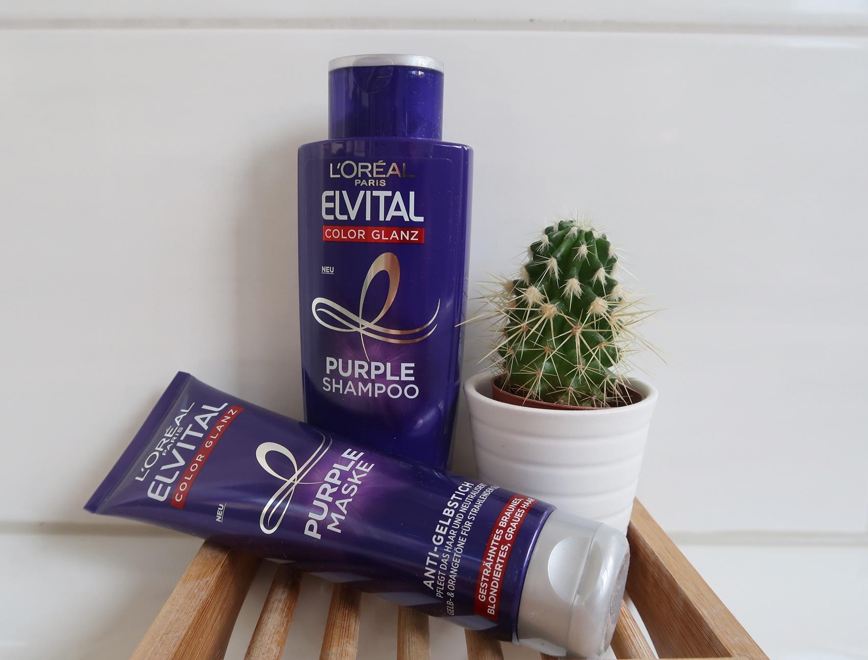 glamupyourlifestyle - Loreal Elvital Purple blondes-Haar kurze-haare kurzhaarschnitt blond gelbstich