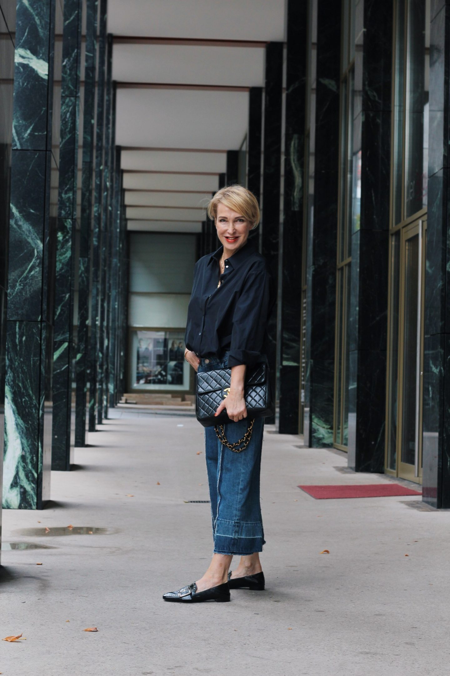 glamupyourlifestyle jeans-culotte hosenröcke culottes herbst-trends ü-40-blog ue-50-blog ue-40-mode