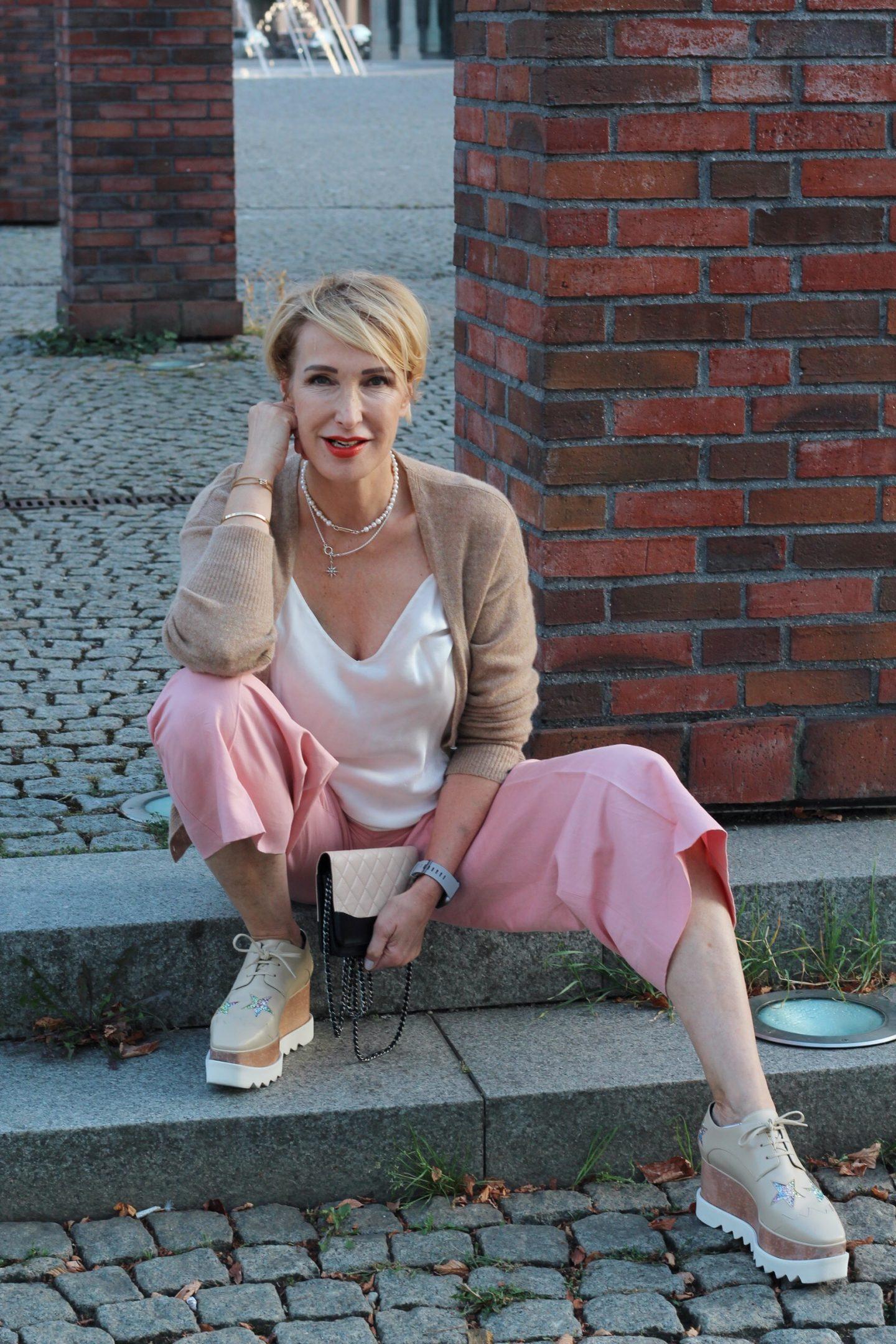 glamupyourlifestyle stella-mccartney-sneaker Culottes angekommen ü-40-mode ü-40-blog ue-50-blog
