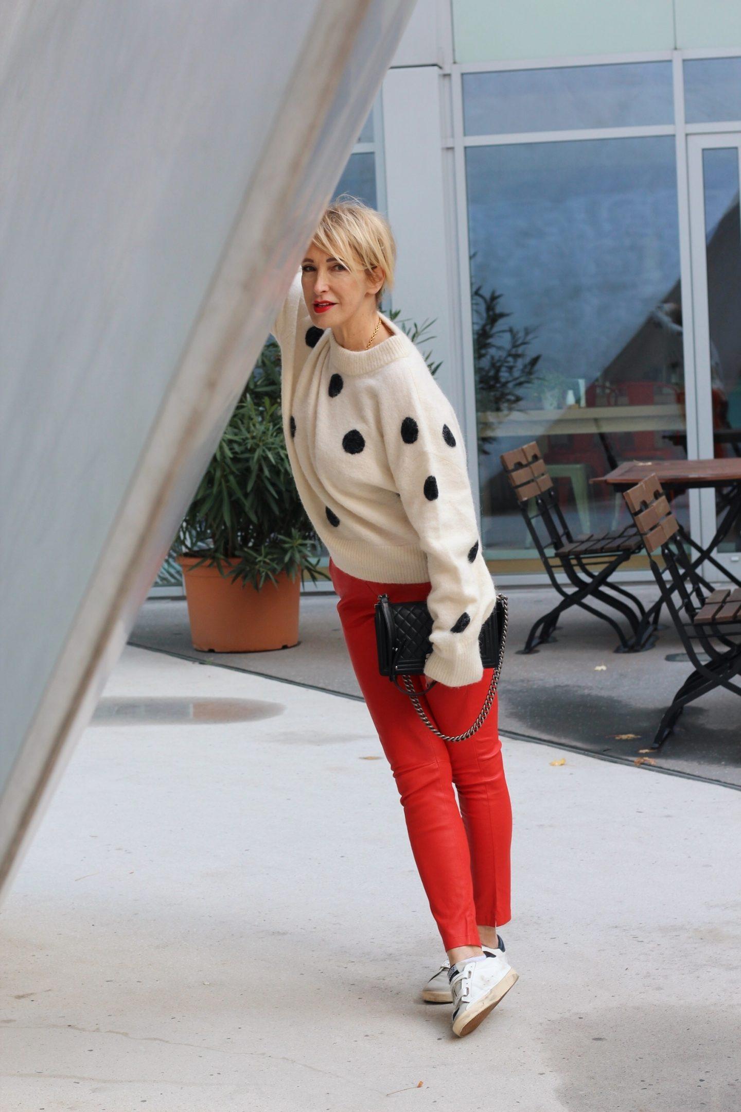 glamupyourlifestyle rote-Lederleggings Neujahrsvorsatz ue-40-blog ue-50-blog ü-40-mode