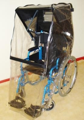 Rain Cover Window Standard Window for Standard Wheelchair