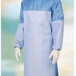 GLCAM CH CCPRCOV Camice chirurgico TTR High Performance dispositivo medico di classe I riutilizzabile 80 volte - colore azzurro