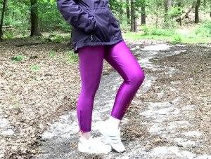 Katy in Stellasport Disco Tights im Wald