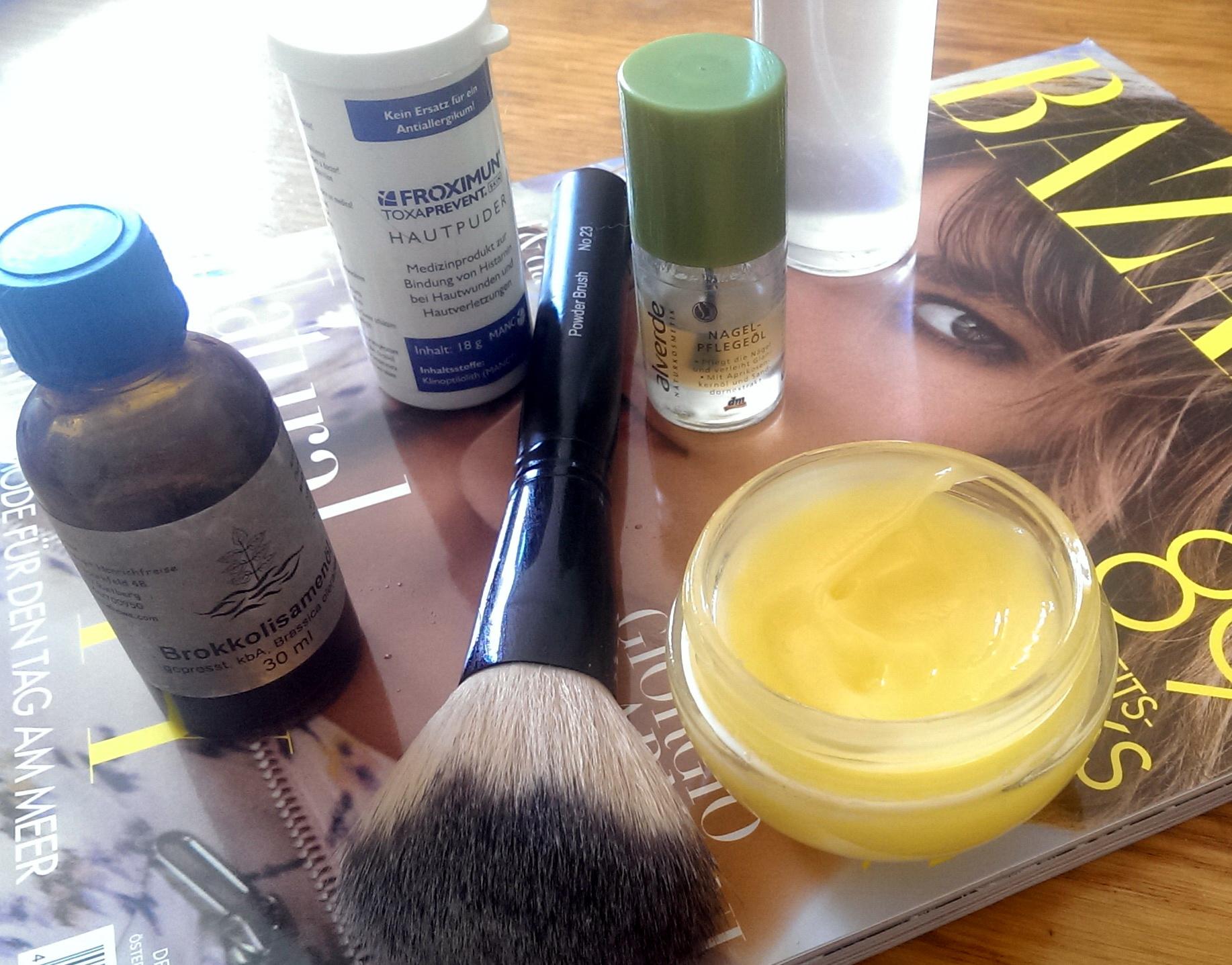Minimalistische Hautpflege mit Naturkosmetik