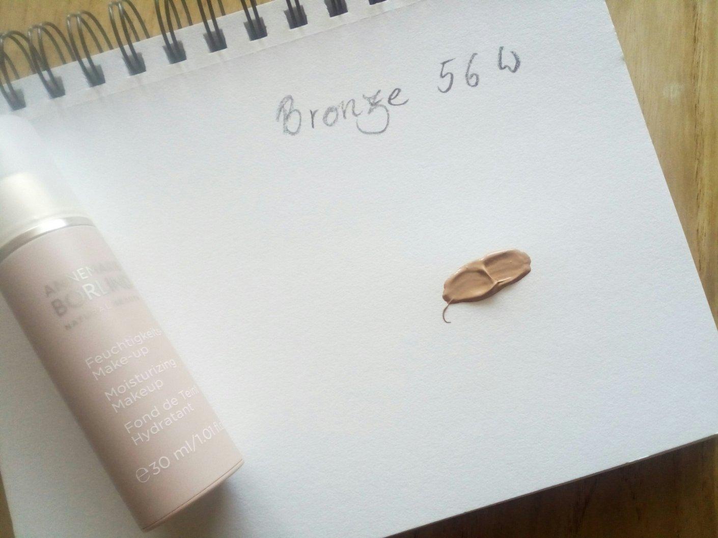 Annemarie Börlind Feuchtigkeits-Make-up in Bronze 56 W