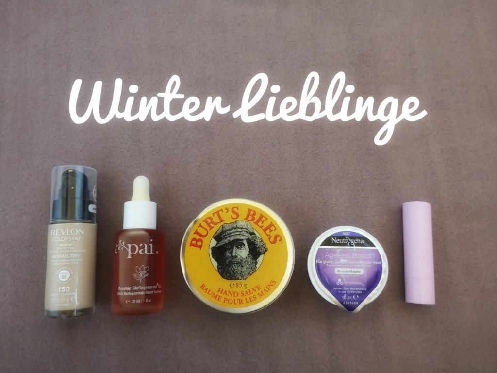 Glanz und Staub Winter Lieblinge