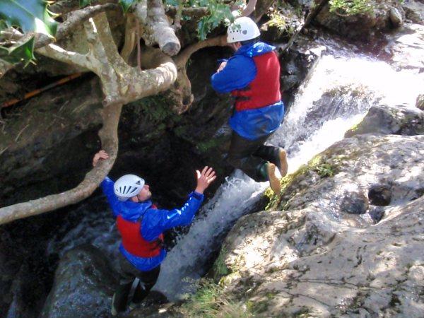 Ghyll Scrambling  Glaramara Activities  Glaramara Activities