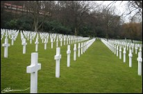 These people may be the lucky ones: their suffering is over. (Suresnes cemetery, France, février 2003.)