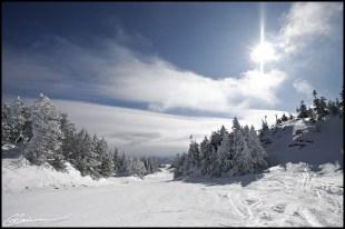 English Sun ? (Mont Orford, Québec, février 2010)