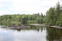 Rivière Péribonka, Auberge Ile au Repos