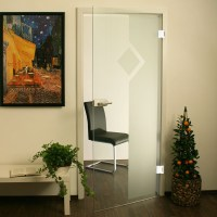 Glastr 13TSO86 - Glasschiebetren, Glastren und ...