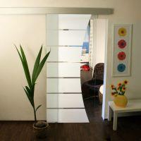 Glasschiebetren mit Motiv / Glaskunst - Glas-Shop24