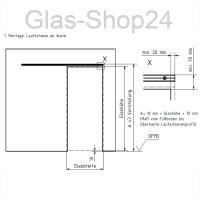 Technische Zeichnunng Montageanleitung - Glasschiebetren ...