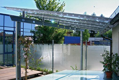 Terrassenüberdachungen Nürnberg Fürth Erlangen Glasbau Brehm