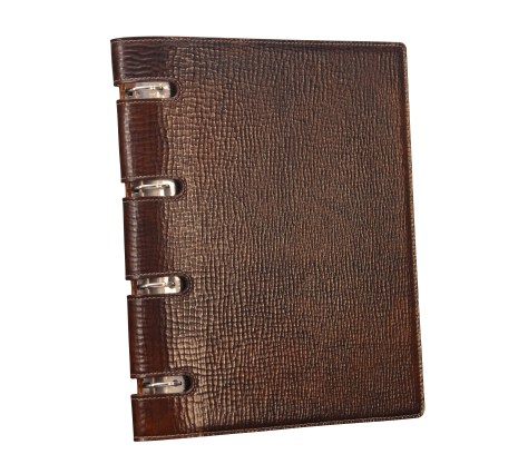 Hand-grained,-hand-colored-expresso-Presentation-Binder.1