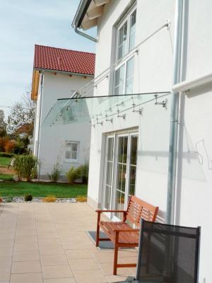 Glasdach Für Terrasse Und Vordach Glaserei Wenzel München
