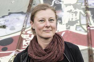 Das Bild zeigt Sandra Plessing, Teammitglied Festival Stadttfinden