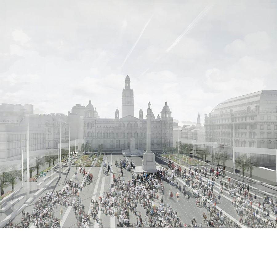 Glasgow landscape architecture public realm glasgow for Garden design glasgow