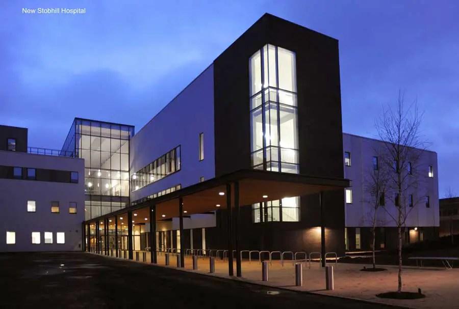 New Stobhill Hospital Glasgow Health Building Glasgow