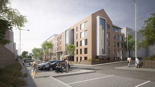 Anderston Regeneration Project Glasgow