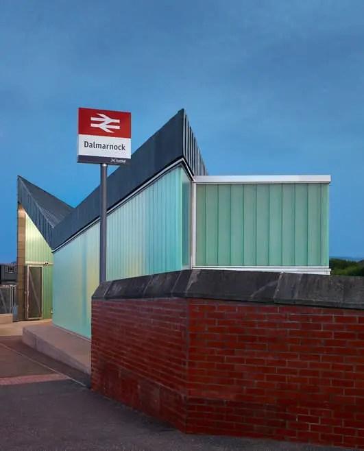 Dalmarnock Rail Station Glasgow