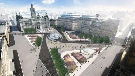 George Square Glasgow design