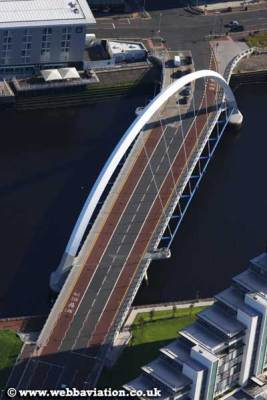 The Clyde Arc from above