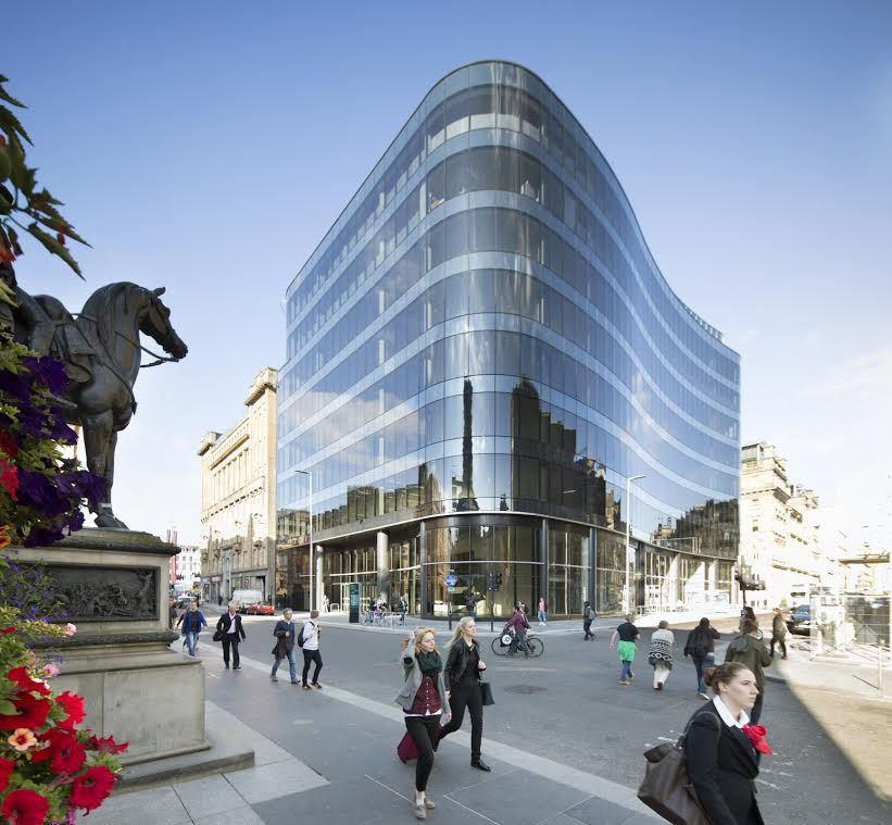 110 Queen Street Glasgow: Office Development