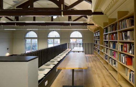 Glasgow Women's Library interior