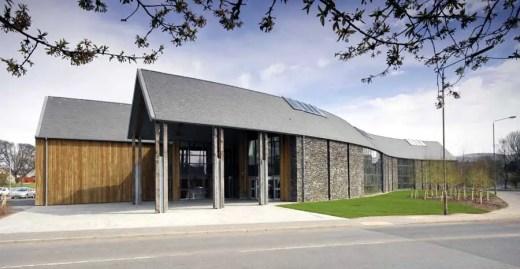 Headquarters building for Loch Lomond & the Trossachs National Park