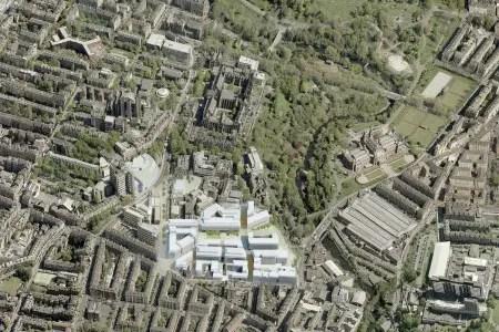 Glasgow University New Campus