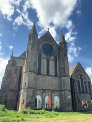 Govan Old Parish church gable