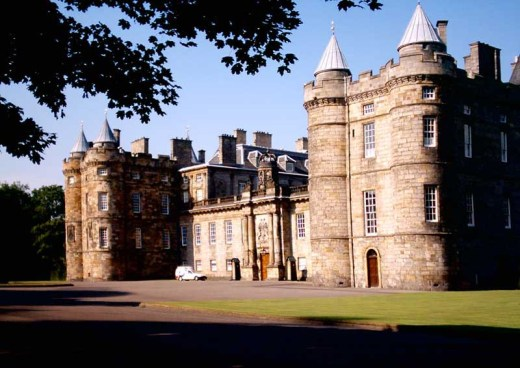 Palace of Holyroodhouse building
