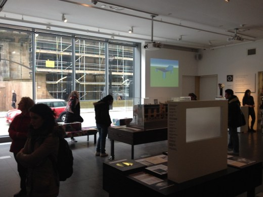 Reid Building at The Glasgow School of Art exhibition
