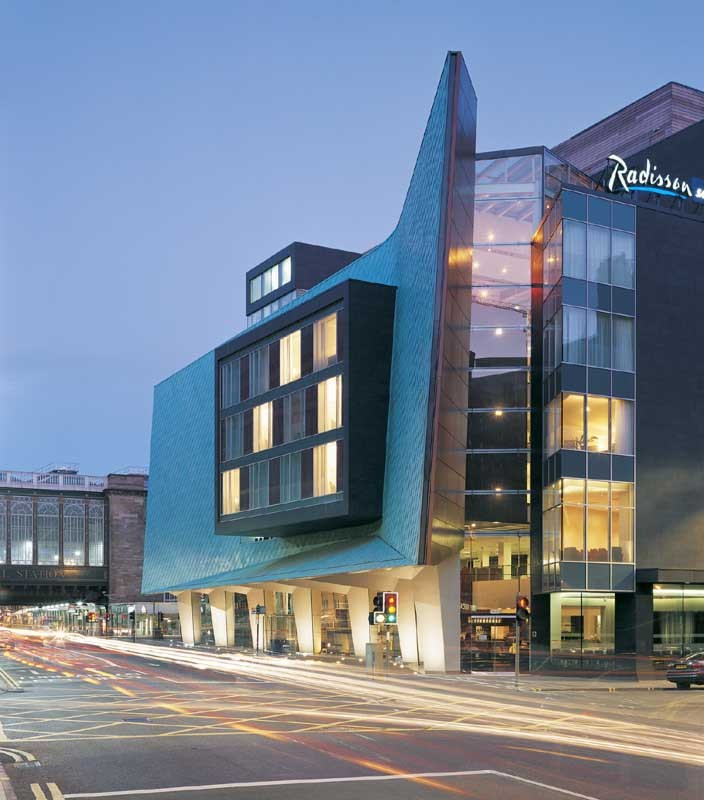 Radisson Hotel Glasgow | www.glasgowarchitecture.co.uk