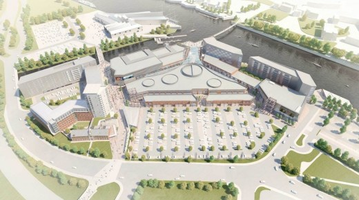 Glasgow Harbour Masterplan design