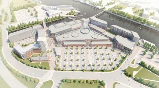Glasgow Harbour Masterplan design